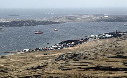 Фолклендские острова. Фото EPA/ИТАР-ТАСС
