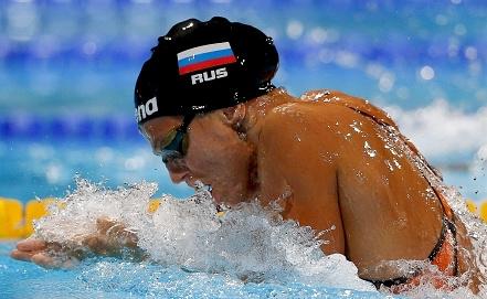 Двукратная чемпионка мира-2013 Юлия Ефимова Фото EPA/ИТАР-ТАСС