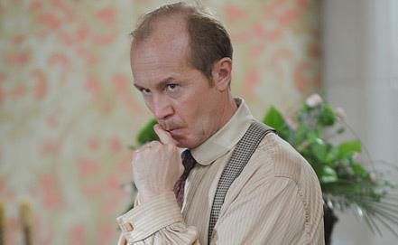 "Андрей Панин (Доктор Ватсон) во время съемок ""Шерлока Холмса"". Фото ИТАР-ТАСС"