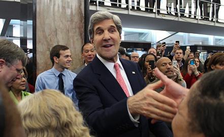 Новый госсекретарь Джон Керри. Фото EPA/ИТАР-ТАСС