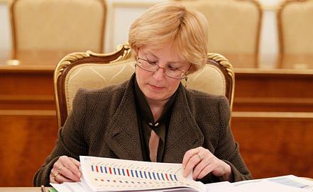 Вероника Скворцова. Фото ИТАР-ТАСС