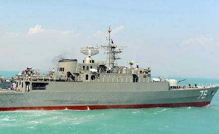 "Эсминец ""Джамаран-1"". Фото EPA/ИТАР-ТАСС"