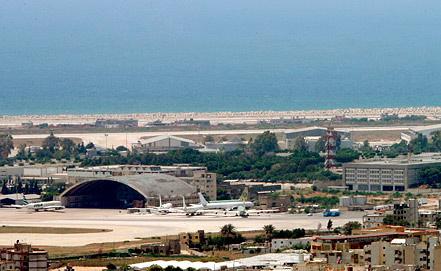Аэропорт Бейрута. Фото EPA/ИТАР-ТАСС