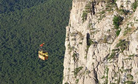 Канатная дорога на горе Ай-Петри. Фото из архива ИТАР-ТАСС/ Алексей Павлишак