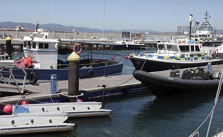 Ситуация на границе Испании и Гибралтар. Фото EPA/ИТАР-ТАСС
