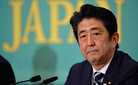 Синдзо Абэ, фото из архива EPA/ИТАР-ТАСС