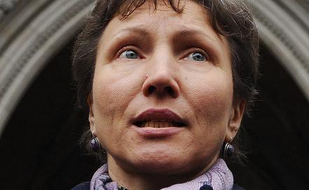 Вдова экс-офицера ФСБ А.Литвиненко. Фото EPA/ИТАР-ТАСС