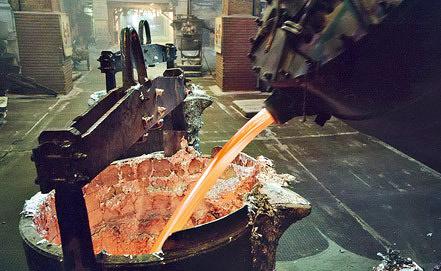 Производство алюминия. Фото ИТАР-ТАСС