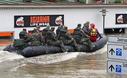 Наводнение в Пассау, Германия. Фото EPA/ИТАР-ТАСС