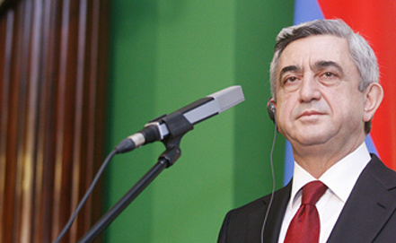 Президент Армении Серж Саргсян. Фото ЕРА/ИТАР-ТАСС