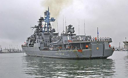 """Противолодочный корабль """"Адмирал Пантелеев"""". Фото ИТАР-ТАСС"""