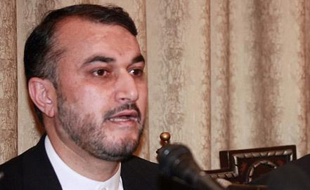Заместитель главы МИД Ирана Хосейн Абдоллахиан. Фото EPA/ИТАР-ТАСС