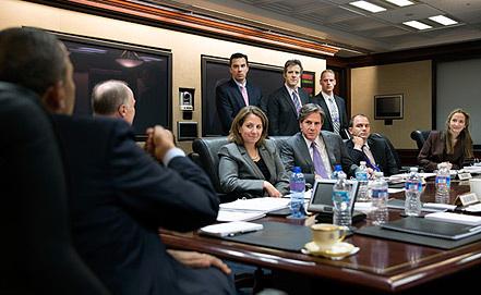 Эврил Хайнс /крайняя справа/ Фото flickr.com/Official White House/Pete Souza