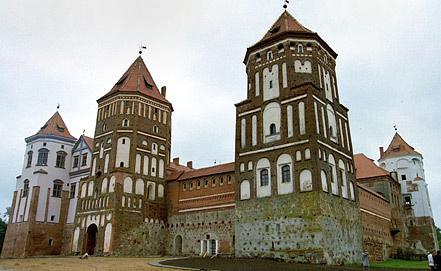 Мирской замок в Белоруссии. Фото ИТАР-ТАСС