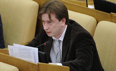 Депутат Владимир Бурматов. Фото ИТАР-ТАСС