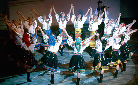 Фото Евгения Масалкова/Государственный академический ансамбль народного танца имени Игоря Моисеева