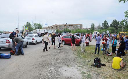 ПоселокНагорный. Фото ИТАР-ТАСС
