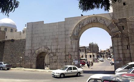 Бэб-Шарки. Старые город Дамаска. Фото EPA/ИТАР-ТАСС