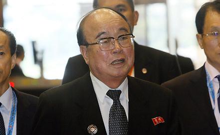 Пак Ы Чун. Фото ЕРА/ИТАР-ТАСС
