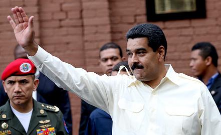 Президент Венесуэлы Николас Мадуро. Фото ИТАР-ТАСС