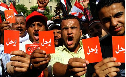 Акция протеста противников Мухаммеда Мурси. Фото EPA/ИТАР-ТАСС