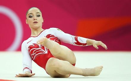 Золотая медалистка Олимпиады-2012 и Универсиады-2013 Алия Мустафина. Фото ИТАР-ТАСС