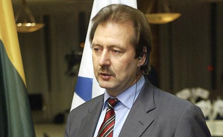 Лидер Партии труда Виктор Успаских Фото ИТАР-ТАСС