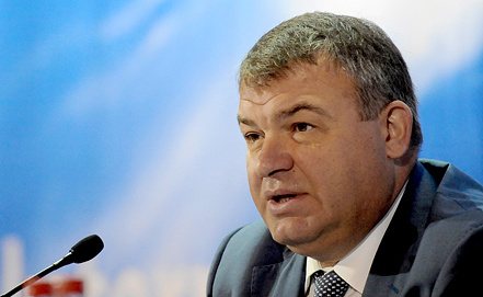 Анатолий Сердюков, фото ИТАР-ТАСС
