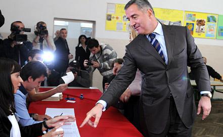Мило Джуканович. Фото EPA/ИТАР-ТАСС