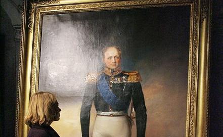 Портрет императора Александра I. Фото ИТАР-ТАСС