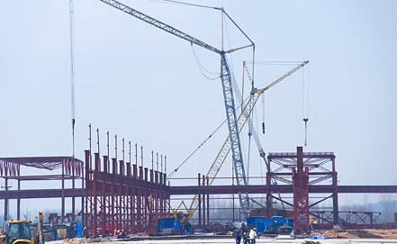 Строительство Балтийской АЭС. Фото ИТАР-ТАСС