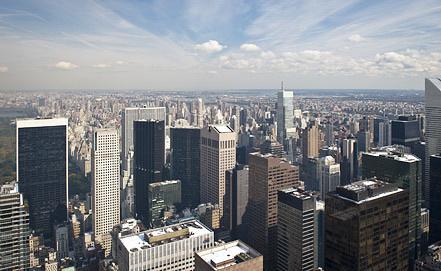 Манхэттен в Нью-Йорке. Фото ИТАР-ТАСС