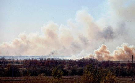 Донгузский военный полигон. Фото ИТАР-ТАСС