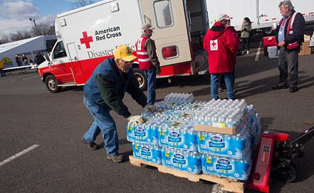 Фото EPA/ AMERICAN RED CROSS/ИТАР-ТАСС