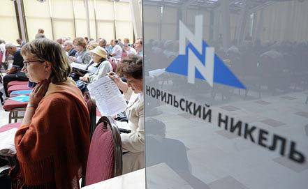 На собрании акционеров. Фото ИТАР-ТАСС