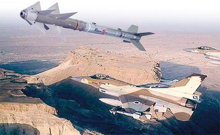 """Ракеты класса """"воздух-воздух"""" """"Питон"""", фото www.rafael.co.il"""