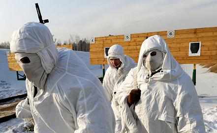 Подготовка снайперов, Забайкальский край. Фото ИТАР-ТАСС