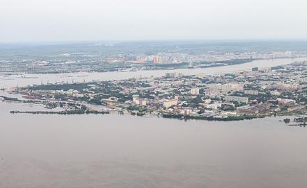 Вид на город Благовещенск. Фото ИТАР-ТАСС/ Игорь Агеенко