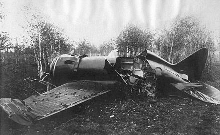 Боевой самолет времен великой отечественной войны найден в о.