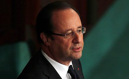 Франсуа Олланд, фото EPA/ИТАР-ТАСС