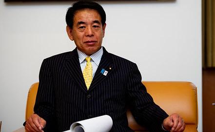 Японский министр просвещения, культуры, спорта, науки и технологий Хакубун Симомура Фото ИТАР-ТАСС/ Зураб Джавахадзе
