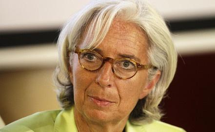 Кристин Лагард, фото из архива EPA/ИТАР-ТАСС