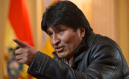 Эво Моралес, фото из архива EPA/ИТАР-ТАСС