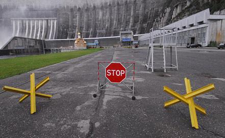 Вид на Саяно-Шушенскую ГЭС. Фото из архива ИТАР-ТАСС/ Александр Колбасов