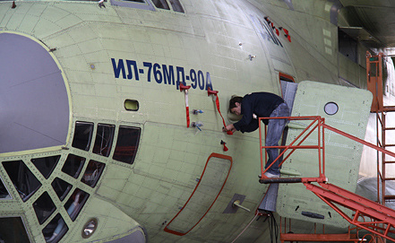 Ил-76МД-90А, фото ИТАР-ТАСС/Ершов Сергей