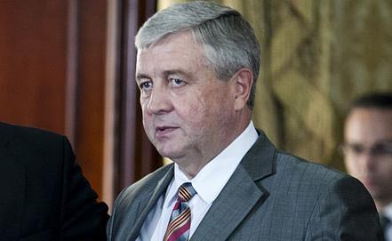 Вице-премьер Белоруссии Владимир Семашко. Фото ЕРА/ИТАР-ТАСС