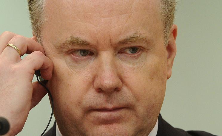 Официальный представитель МИД России Александр Лукашевич. Фото ИТАР-ТАСС/ Станислав Красильников