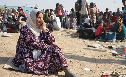 Сирийские беженцы в Ираке. Фото EPA/ИТАР-ТАСС