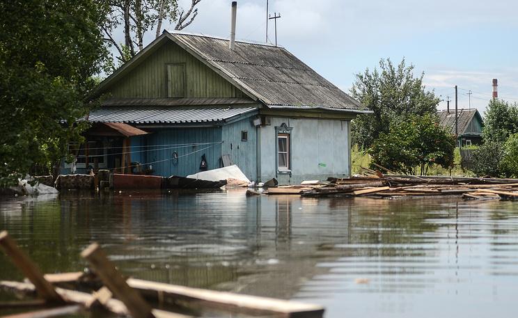 Паводок в Хабаровском крае. Фото ИТАР-ТАСС/ Ольга Егораева