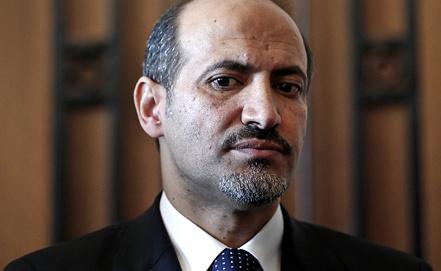 Лидер Национальной коалиции Сирии Ахмед аль-Джарба/Фото EPA/SEDAT SUNA